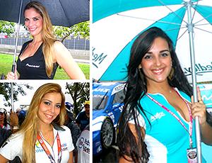 O 'Gata da Stock' mostra beldades nos boxes e grids desta temporada (Igor Christ Dias / Globoesporte.com)
