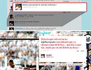 twitter neymar santos