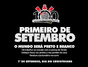 Cartaz Corinthians, Primeiro de Setembro