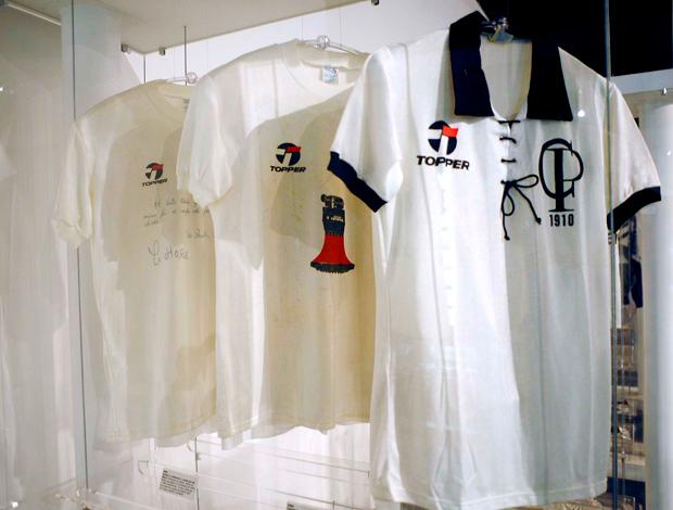 Memorial Corinthians: Camisas utilizadas em jogos