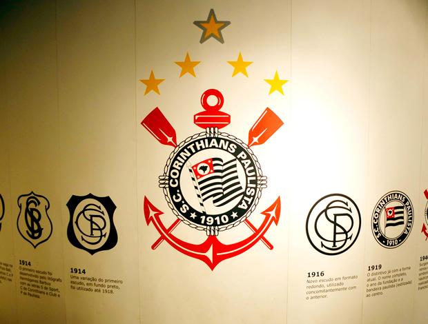 Centenário Corinthians: Evolução escudos