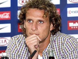 Diego Forlán, coletiva Atlético de Madri