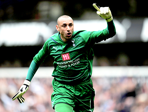 Gomes, no Tottenham (Foto: getting)