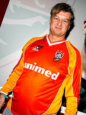 Beto Silva com a camisa do Fluminense