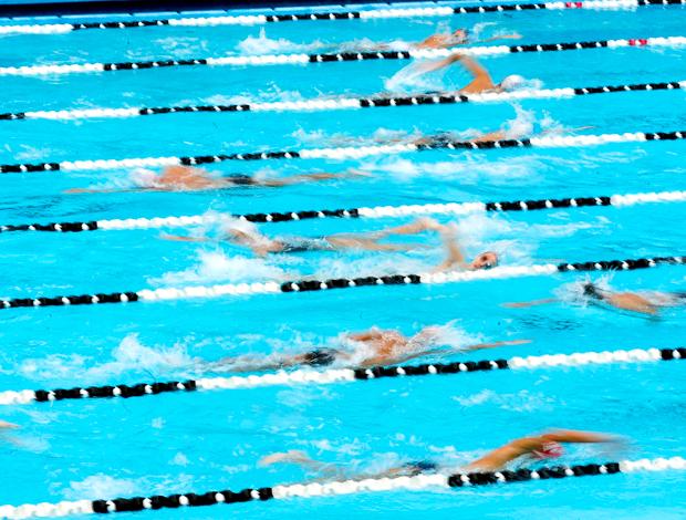 Centenário Corinthians: Nadadores piscina Parque São Jorge