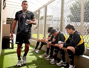 Fernandinho, treino São Paulo