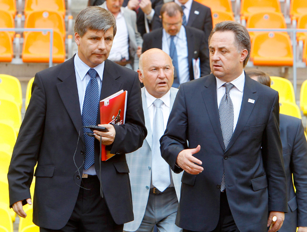 Harold Mayne-Nicholls inspeção FIFA na Rússia
