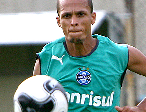 Souza, treino Grêmio