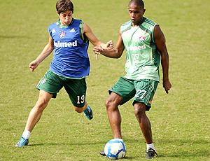 Conca e Valência, treino Fluminense