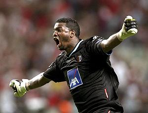 Felipe comemora vitória do Braga contra o Sporting