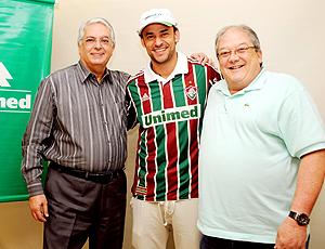 Fred, Celso Barros, Horcades, renovação de contrato. Fluminense