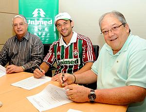 Fred, renova com Fluminense