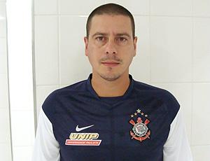 Leandro de Martini goleiro de futsal do Corinthians