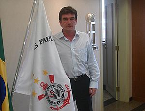 Andrés Sanchéz, presidente do Corinthians