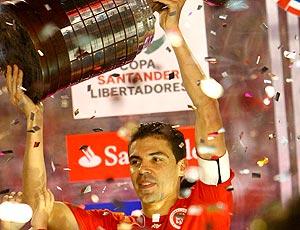 Bolívar com taça Libertadores