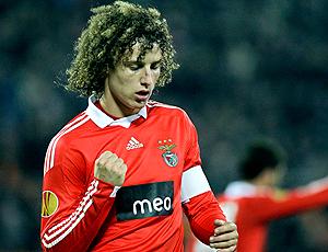 David Luiz, jogador Benfica