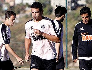 Diego Souza no treino do Atlético-MG