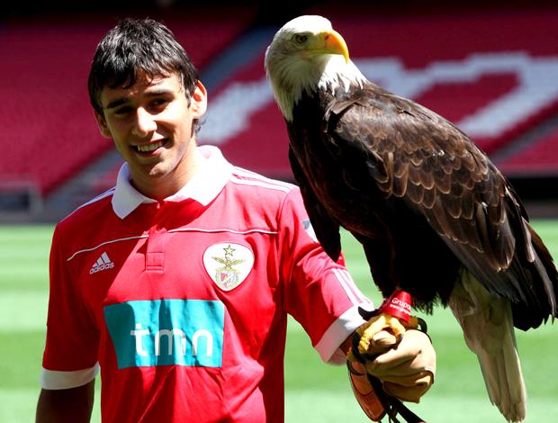 Eduardo Sálvio, apresentação Benfica com águia