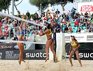 Maria Elisa e Talita, vôlei de praia