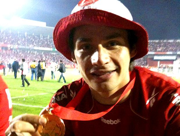 rafael sobis internacional medalha campeão libertadores twitter