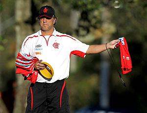Rogério Lourenço treino Flamengo