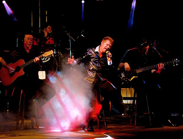 Roberto Leal show aniversário Vasco