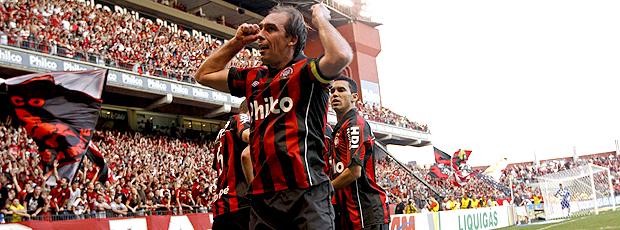 pailo baier atlético-pr gol flamengo