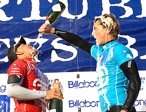 Surfe Kelly Slater e Andy Irons Mundial Jeffreys Bay 2005