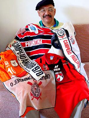 torcedor Sérgio Jorge Alves camisas Prudente