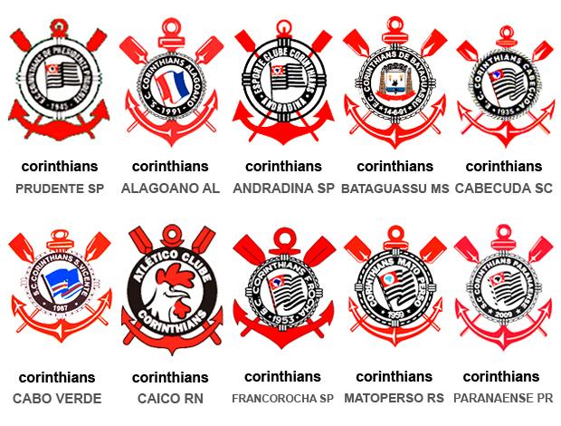 Mosaico Corinthians pelo Brasil