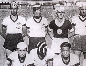 Gushiken jogador Corinthians de Prudente tampão no olho