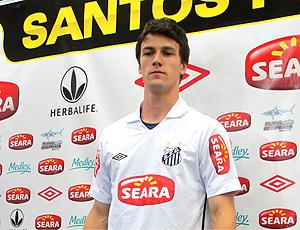 Rodrigo Possebon é apresentado no Santos