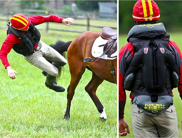 reprodução new york times Air bag jockey