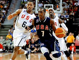 basquete EUA rajon rondo treino