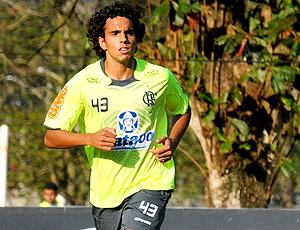 Diogo, treino. Flamengo