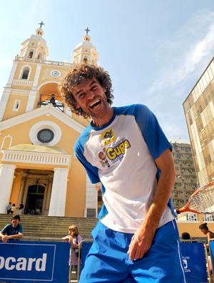 Gustavo Kuerten Guga catedral Florianópolis tênis