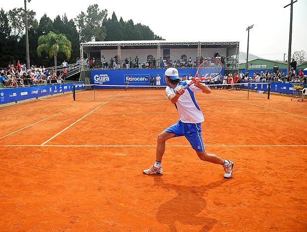 Gustavo Kuerten tênis Florianópolis treino Fernando Meligeni
