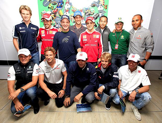 evento comemorativo Barrichello 300 GPs