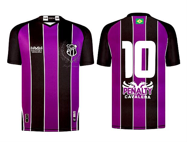 Ceará terá terceiro uniforme com camisa roxa 091aec326da2f