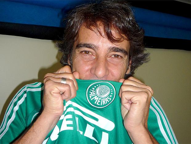 Alexandre Borges, ator com camisa do Palmeiras 05