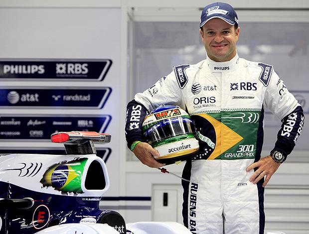 Rubens Barrichello macacão carro Williams 300 GPs Bélgica