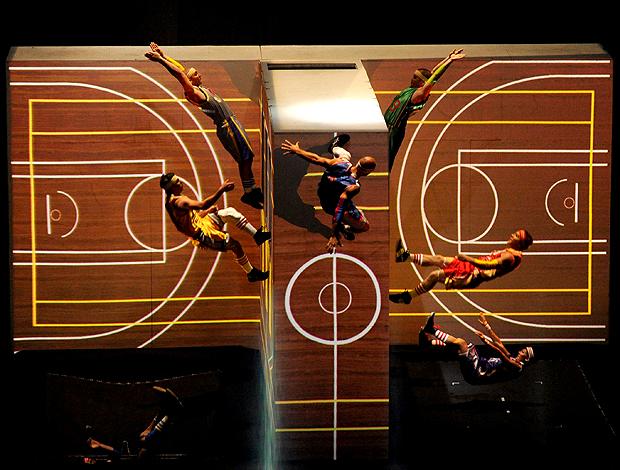 basquete cerimônia abertura Turquia