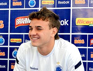 goleiro Gabriel Vasconcelos, do Cruzeiro, que foi convocado pelo Mano Menezes