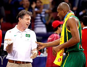 Magnono Leandrinho Brasil x Irã Mundial de Basquete