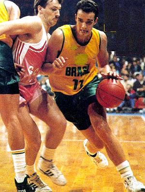 Marcel seleção de basquete 1979