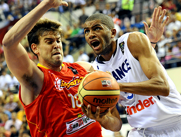 Marc Gasol Espanha Nicolas Batum França Mundial de Basquete Turquia