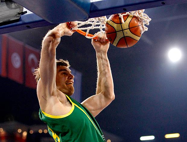 Tiago Splitter Brasil Mundial de Basquete Turquia