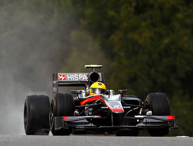 Bruno Senna no treino do GP da Bélgica