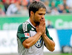 Diego lamenta derrota do Wolfsburg