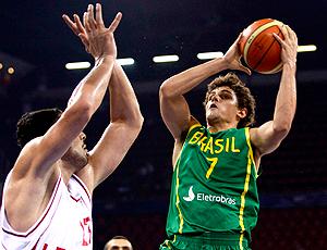 Raulzinho Brasil x Irã Mundial de Basquete